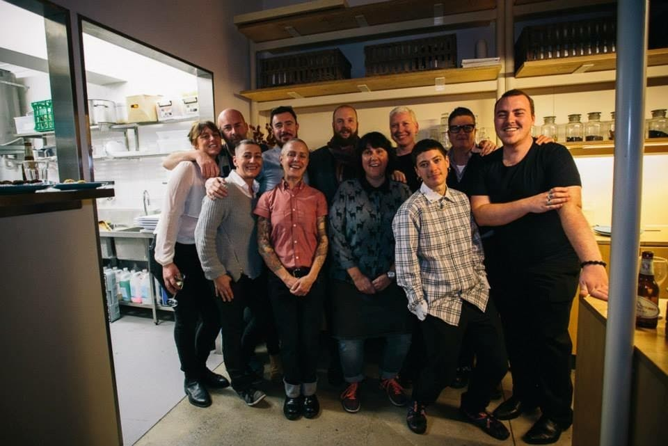 The team at Three Queens, who raised $3000 after hosting a Dine Out 4 Camp Out fundraising event. Supplied photo.