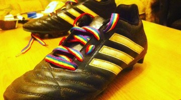 #RainbowLaces. Photo: Instagram via jogeshbowry