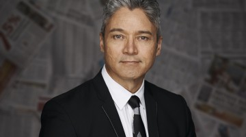 Anton Enus is a popular SBS newsreader and journalist. Picture: SBS