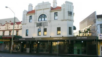 The Bank Hotel Newtown.