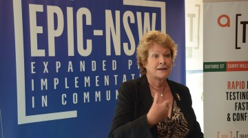NSW Health Minister Jillian Skinner at an EPIC-NSW event. Photo: David Alexander