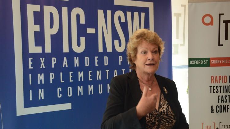 NSW Health Minister Jillian Skinner at an EPIC-NSW event. Photo: David Alexander