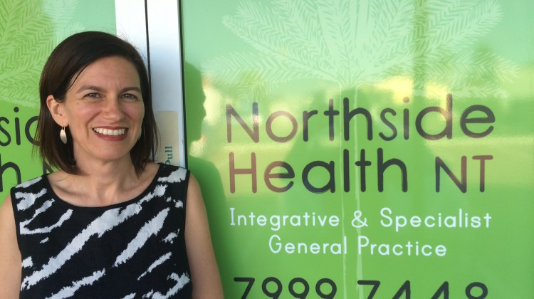 Dr Danielle Stewart spearheading the first LGBTI specific clinic in the Northern Territory (photo: supplied)