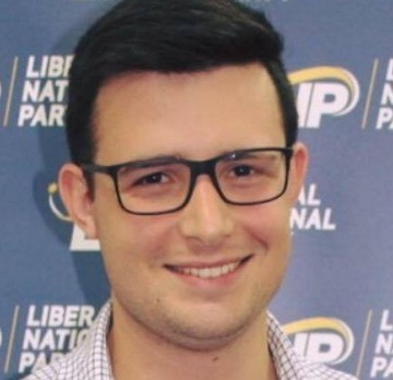 Jonathan Pavetto is running against Bob Katter in the federal seat of Kennedy. Photo: Supplied