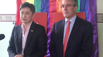 Penny Wong and Mark Dreyfus