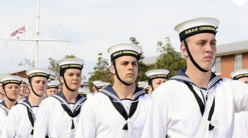 New navy recruits. Photo: Defence Jobs