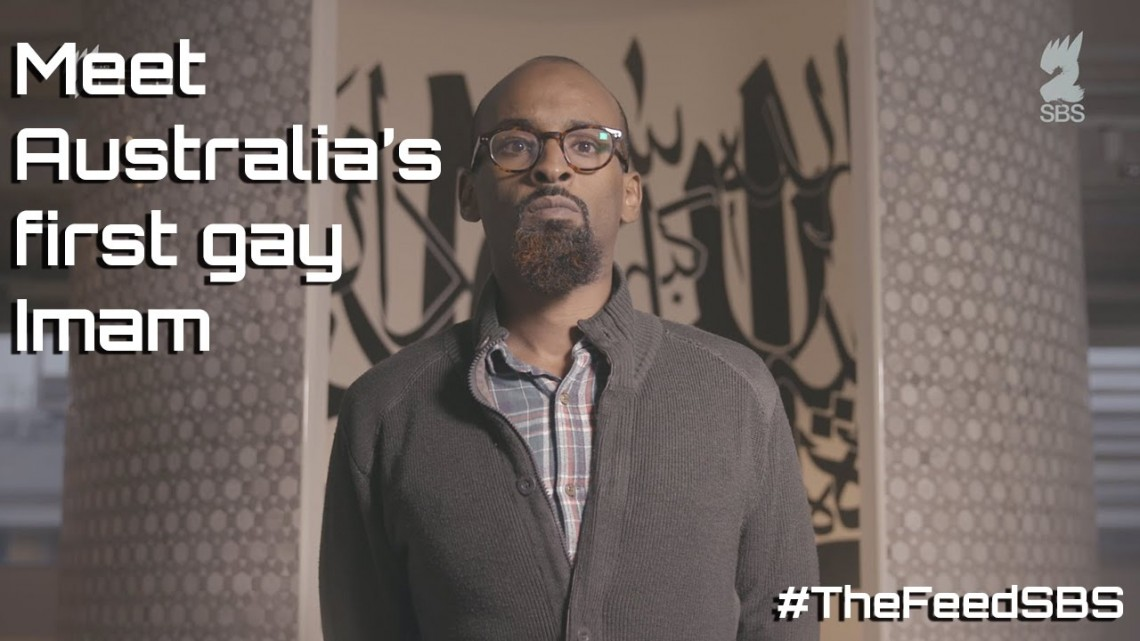 Imam Nur Warsame on SBS2's The Feed. Photo: YouTube