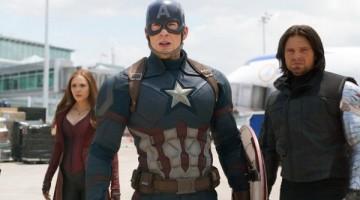 Chris Evans and Sebastian Stan in a scene from Marvel's Captain America: Civil War. Picture: Disney/Marvel