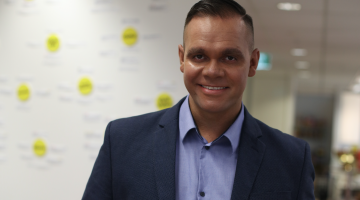 Buzzfeed's Walkley-nominated Indigenous Affairs reporter Allan Clarke. Picture: Supplied