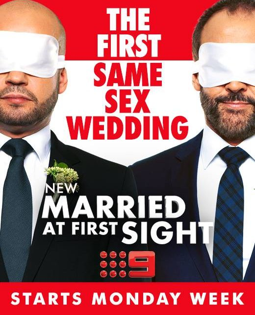 Married at First Sight on Channel 9. Photo: Facebook.