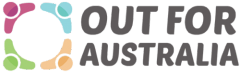 Out For Australia Logo