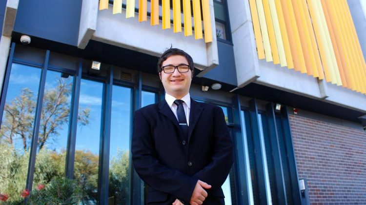 19-year-old Hume City Council candidate Phillip Di Biase has a story unlike any other.