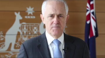 Malcolm Turnbull has introduced legislation that would enable a plebiscite on marriage equality. Picture: Malcolm Turnbull/Facebook