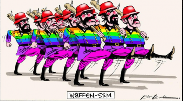 The controversial Bill Leak cartoon. Picture: Bill Leak/The Australian.