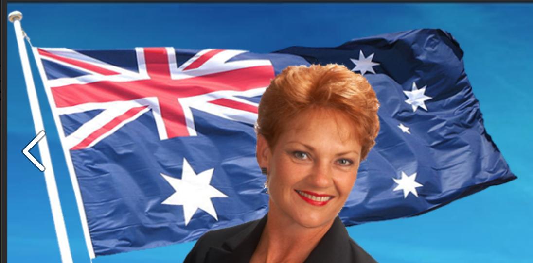 Pauline Hanson. Photo: Facebook