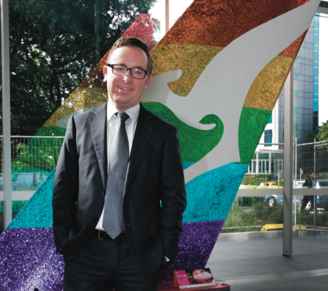 Qantas chief executive Alan Joyce. (PHOTO: Ann-Marie Calilhanna; Star Observer)