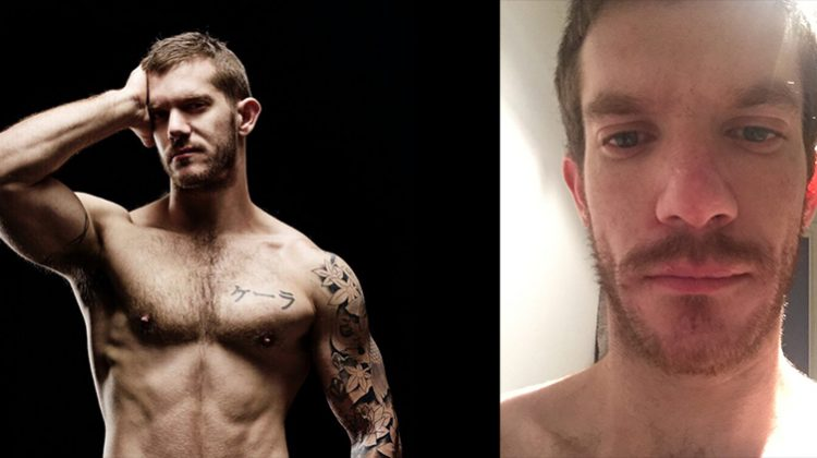 Melbourne-based porn star Skippy Baxter opens up about his battle with crystal meth addiction. Pictures: Supplied