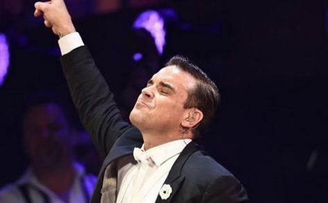 Robbie Williams. Picture: Instagram