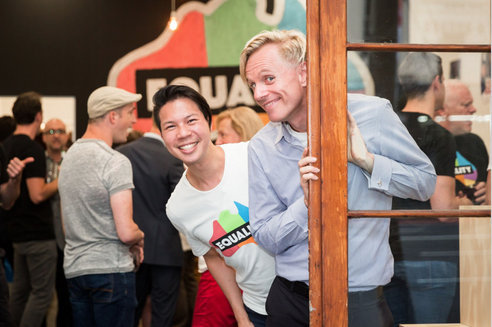 Launch of the Equality Campaign pop-up shop. Photo: Frank Farrugia, Same Love Photography
