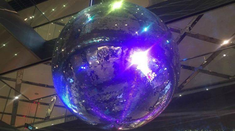 sydney westfield disco ball