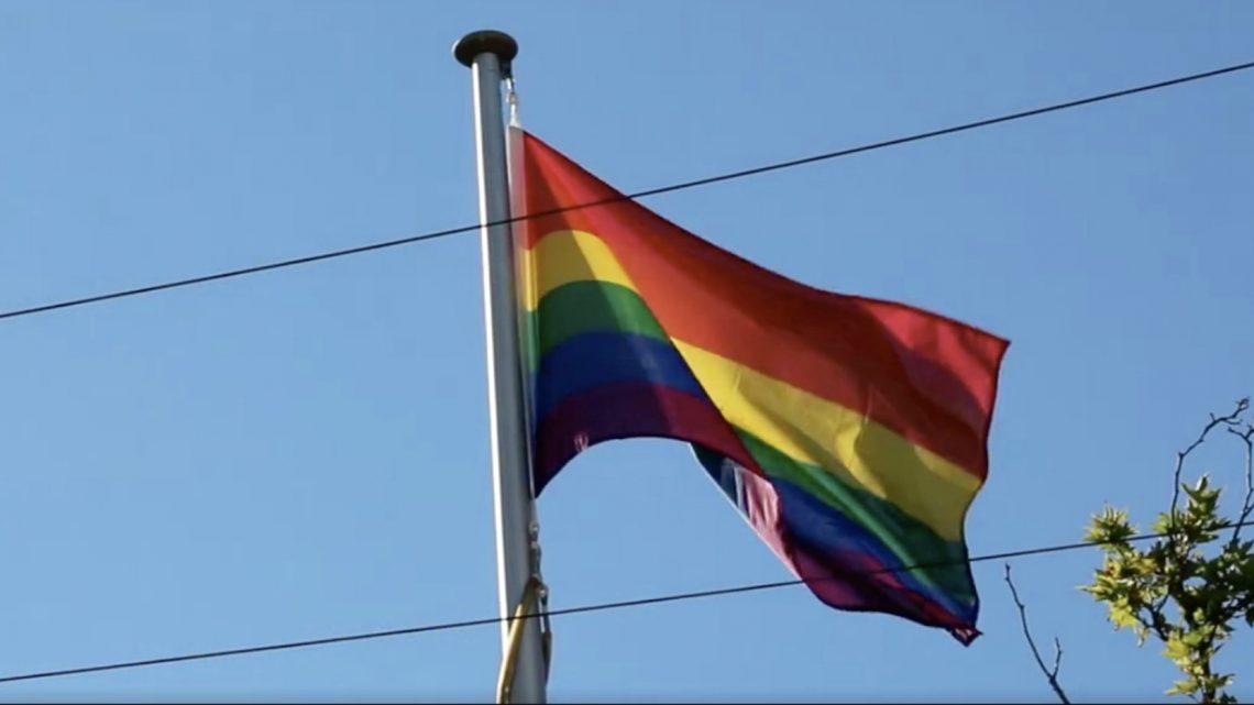 rainbow flag canberra